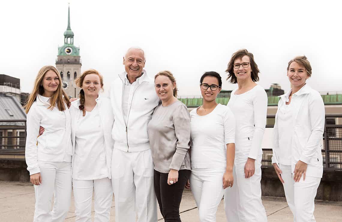 Praxis, Team & Dr. Rüdiger Hansen, Zahnarzt München